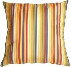 Pillow Decor - Sunbrella Castanet Beach Stripes... - $39.95