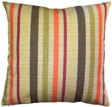 Pillow Decor - Sunbrella Solano Fiesta 20x20 Outdoor Pillow - £29.88 GBP