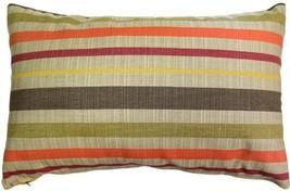Pillow Decor - Sunbrella Solano Fiesta 12x20 Outdoor Pillow - $34.95