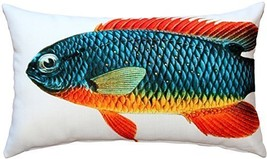 Pillow Decor - Guppy Fish Pillow 12x20 - £22.40 GBP