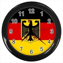 Germany Wall Clock - German Flag - $17.41