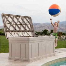 Outdoor Storage Bench Patio Box Garden Deck Con... - $153.44