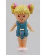 1992 Vintage Lot Polly Pocket Doll Dolphin Pen Pal - Tiny Tina Bluebird - $7.50
