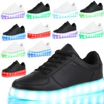 LED Unisex Light Lace Up Luminous Shoes Sneaker Sportswear Luminous Casu... - $22.22+