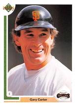 1991 Upper Deck #176 Gary Carter NM-MT Giants - $0.99