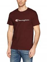 Champion Short Sleeve Maroon Classic Graphic Jersey Logo T-Shirt Adult L... - $18.80