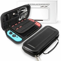 For Nintendo Switch Hard Travel Carrying Bag/Case+Tempered Glass ScreenPro - $20.00