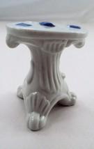 Vtg Porcelain Dollhouse Victorian Casino Gaming Card Table Poker Blackja... - $16.88