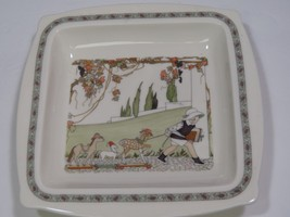Minton Golden Days Square Tray Bowl Dish Plate plate Toy Horses Pattern ... - $47.52