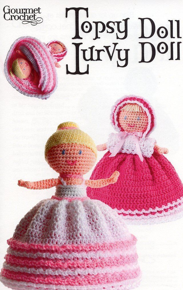 Sugar and Spice Amigurumi Butterfly Pony Kitty Gourmet Crochet Pattern Leaflet