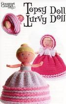 Topsy Turvy Doll Baby flips to Ballerina Gourmet Crochet Pattern 30 Days... - $8.07