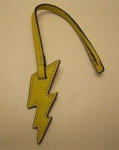 Purse charm Michael Kors ReDuCeD pRiCe Leather Lightening Bolt charm NWT... - $60.52