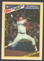 Boston Red Sox Calvin Schiraldi World Series 1 1987 Topps Baseball Highlights 20 - $0.99
