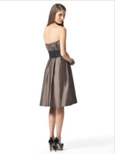 Dessy 2836....Knee-length, Strapless Dress.....Bailey.....Sz .6