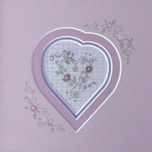 Sweet Pea Heart Kit cross stitch Shepherd's Bush - $12.00