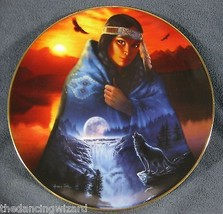 Visions In A Full Moon Andrew Farley Cloak Of Visions Collector Plate - $23.70