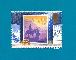 Great Britain (used postage stamp) Christmas 1988 Nativity - $1.99