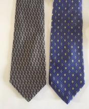 STAFFORD 100% Silk Tie Men's Necktie lot 2 - $14.95