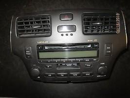 02 03 04 Lexus Es300,Es330 Radio Cd Cassette Oem #86120 33511 Xx 1031 *See Item* - $174.24