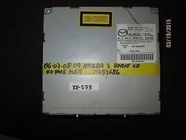 06 07 08 09 Mazda 3 Radio Cd No Face Plate #14793686 Xx 573 *See Item* - $51.48