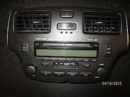 02 03 04 Lexus Es300,Es330 Radio Cd Cassette Oem #86120 33511 Xx 1032 *See Item* - $174.24