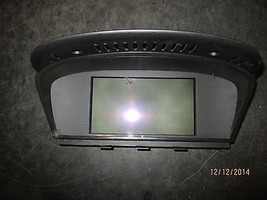 04 05 06 07 Bmw 530,525 Navigation Screen #65826952327 Xx 581 *See Item* - $95.04