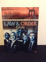 NIB Law & Order Detective Game Cardinal TV Crime Solving - $14.95