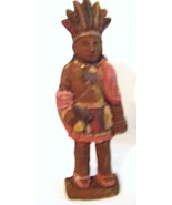 Carved Native American Figurine 1985 by Ephraim - £22.02 GBP