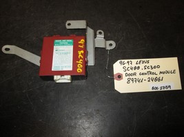 96 97 Lexus Sc400,Sc300 Door Control Module #89741 24061 *See Item Description* - $33.66