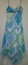 Rue 21 Junior's Blue Floral Asymetrical Dress Size 5 - $14.90