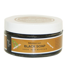 6 Pack Moroccan Black Soap with Healing Argan Oil - $85.35