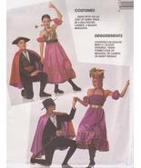 McCall's 5072 Child's Spanish Dancer Bullfighter Carmen Miranda Pattern ... - $16.99