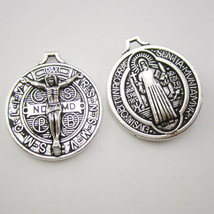 50pcs of Round Saint Benedict Jubilee Medal - $28.03