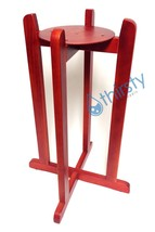 Cherry Red Water Crock Floor Stand Vase Base Dispenser H2O Aqua Jug Fauc... - $39.60