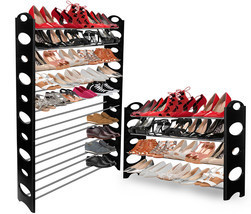 OxGord Shoe Rack for 50 Pair Wall Bench Shelf C... - $18.95