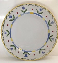 "Set Of 3 ""26 Ariel"" Dinner Plates By International Tableworks Stoneware - $29.69"