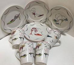 Rosanna Dessert/Salad Ceramic Designer Fashion ... - $74.79