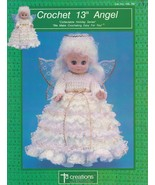 Angel, Doll Clothes Crochet Doll Clothing Pattern Booklet Td Creations H... - $4.95