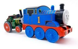Thomas The Train & Trevor TOMY Gullane 2004 Pull & Go Thomas and Friends - $9.25