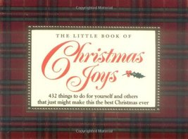 The Little Book of Christmas Joys Brown, H. Jackson; Brown, Rosemary and... - $3.96