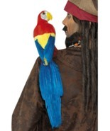 Smiffys Shoulder Parrot Bird Pirate Adult Halloween Costume Accessory Pr... - $12.49