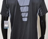 Nike Pro Fitted Stay Cool Short Sleeve Black Gray Mens Extra Large XL