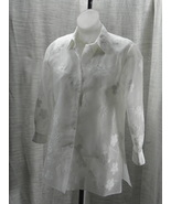 Jsong Collection 100% Polyester White Set Shell... - $29.99