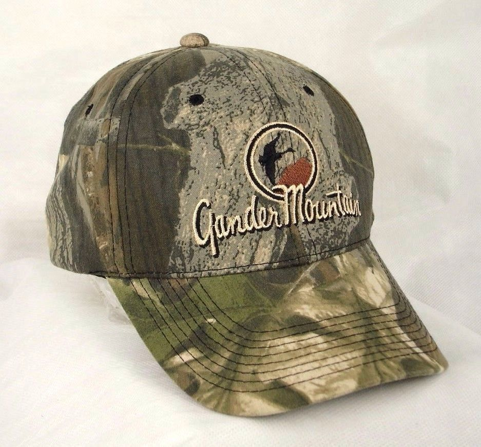 12a9117b9dc3d Gander Mountain Camo Camouflage Baseball Cap and 50 similar items. 57