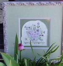 My Heart's Garden Kit cross stitch Shepherd's Bush - $28.00