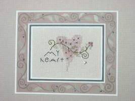 My Heart Kit cross stitch Shepherd's Bush - $12.00