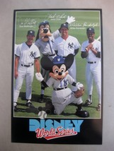 "New York Yankees 1988 Disney World Series 6"" x 9"" Photo Card Don Mattingly - $5.45"