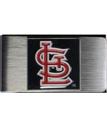 ST. LOUIS CARDINALS MLB stainless steel Money Clip/Card Holder - $29.95