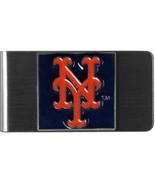 NEW YORK METS stainless steel Money Clip/Card Holder - $29.95