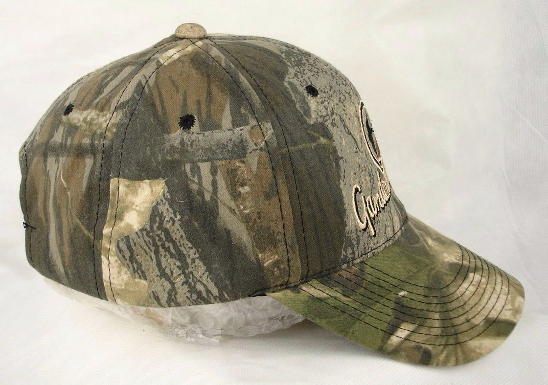 151798fb62d2e Gander Mountain Camo Camouflage Baseball Cap Hat Outdoors EUC Box Shipped
